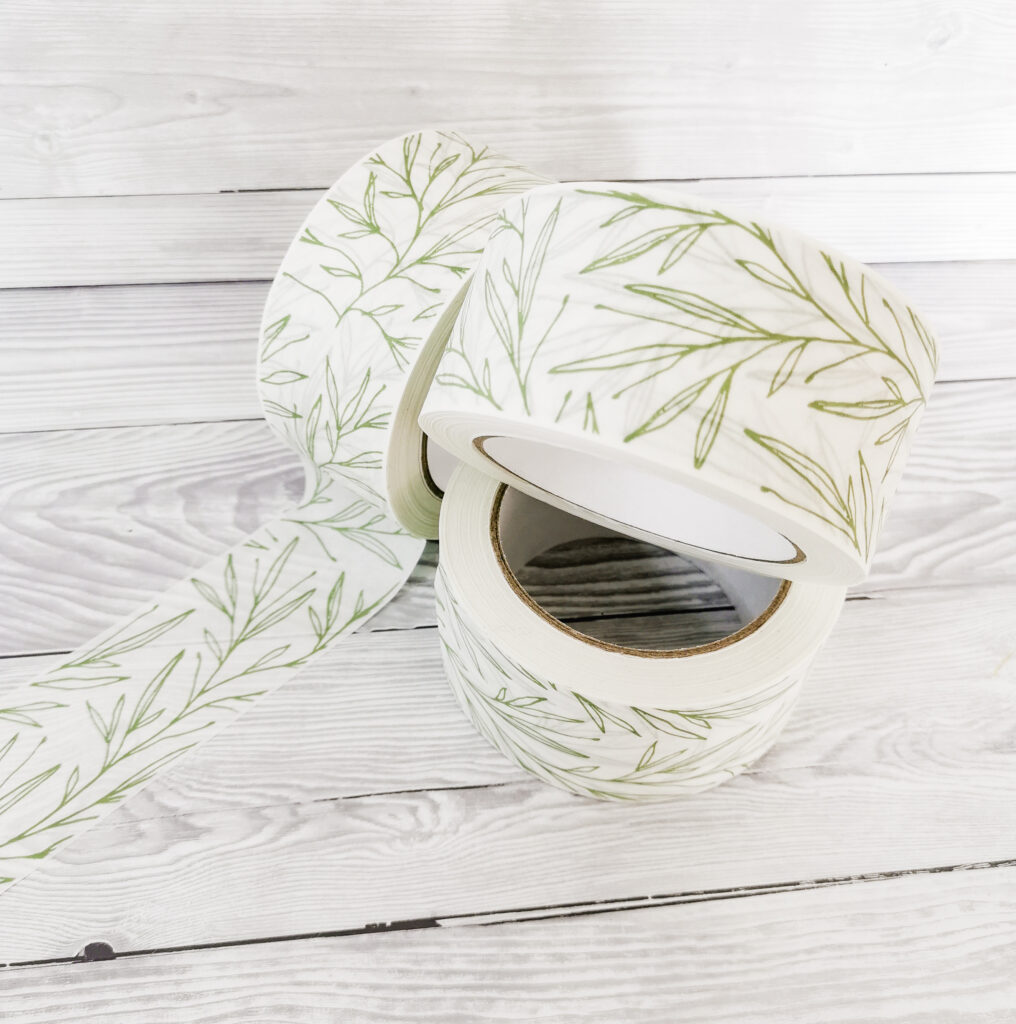 Botanical Eco Friendly Packaging Tape